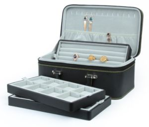 PU Leather High-End Jewelry Box for Storage and Display pictures & photos
