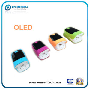 Four Color New OLED Fingertip Pulse Oximeter pictures & photos
