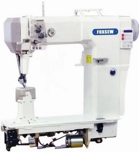 Automatic Roller Feed Leather Sewing Machine for Boots pictures & photos