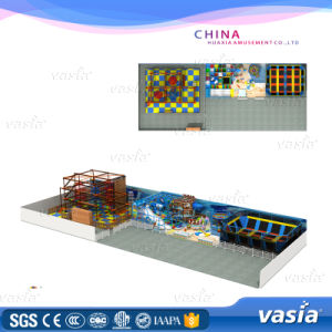 Good Quality Children Soft Playground Trampoline Park (VS6-160121-106A-4-29) pictures & photos