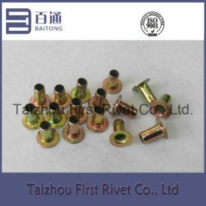 4X6mm Yellow Zinc Color Fully Tubular Iron Rivet pictures & photos