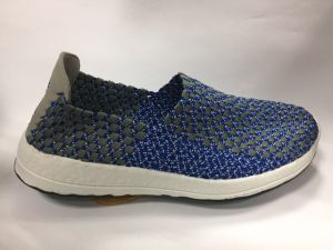 New Design Elastic Woven Shoe for Men pictures & photos