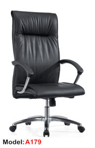 Modern Ergonomic Office Leather Aluminium Executive Boss Chair (A25) pictures & photos
