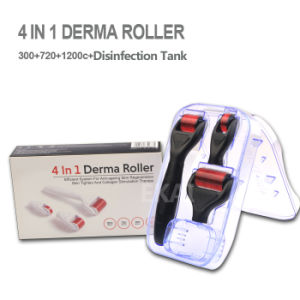 Stainless Microneedle Dermaroller/Drs Derma Roller Kits/ 4-in-1 Derma Roller pictures & photos