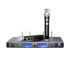 Vocal Artist UHF Wireless Clip Karaoke Microphone System pictures & photos