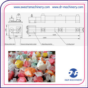 Full Automatic Sweets Manufacturing Confectionery Equipment Toffee Candy Depositing Line pictures & photos