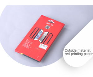 Fashion Professional Red Cardboard Plastic Electronics Accessories Package Case pictures & photos