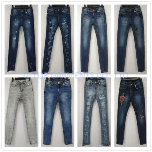 Basic Style Denim Jeans for Girls (121-G303) pictures & photos