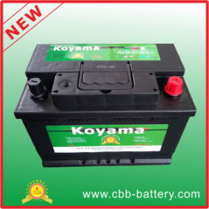 Sealed Mf Battery 12V66ah Car Battery 56618-DIN66mf pictures & photos