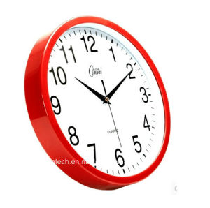 Promotional Metal Plastic Wall Clock pictures & photos