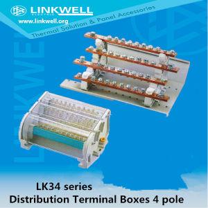 Econonic Type 4 Pole 160A/200A/ 250A/400A Brass Distribution Boxes (LK34) pictures & photos