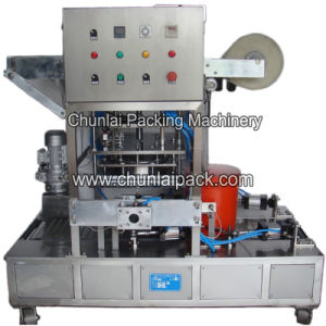 Automatic Engine Oil Bucket Sealing Machine pictures & photos