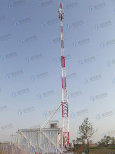 Telescopic Steel Pole Base Station pictures & photos