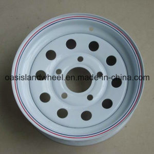 Small Tubeless Trailer Car Rims (5JX14 5JX15) with DOT TUV pictures & photos
