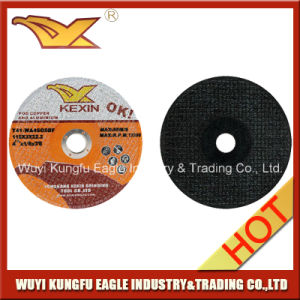 115*3*22.2mm Depressed Center Resin Bonded Grinding Wheel pictures & photos