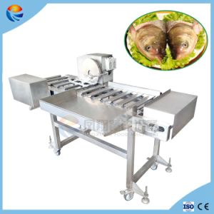 Industrial Automatic Fish Heads Cutter Slicer Cutting Slicing Processing Machine pictures & photos
