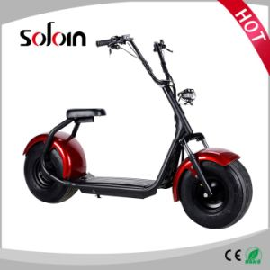 1000W Big Wheel Lithium Battery Balance Electric Motorcycle (SZE1000S-3) pictures & photos