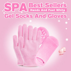 Moisturizing Gel Gloves and Socks for Heels and Elbows Beauty Care pictures & photos