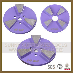 Round Edge Diamond Grinding Wheel for Concrete pictures & photos