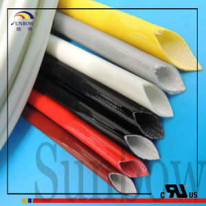 Sunbow Silicone Fiberglass Sleeving with UL RoHS Reach Approval pictures & photos