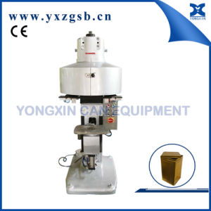 Semi-Automatic Tin Can Sealing Machine of Square Rectangular Paint Can pictures & photos
