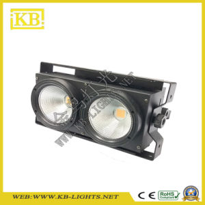 Hot Sale Model 2*100W LED COB Blinder pictures & photos