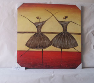 Double Ballet Pattern Home Decorative Canvas Hanging Painting