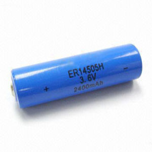 Power Supply 3.6V Lithium Battery 1/2AA Er14250/Er14505/Er10280 Li Socl2 Battery pictures & photos