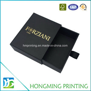 Custom Logo Printed Paper Cardboard Jewelry Box pictures & photos