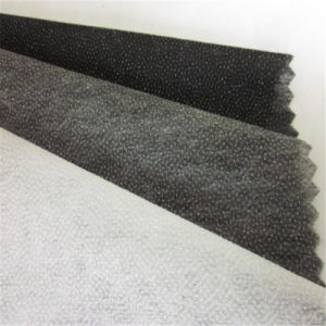 Non Woven Paper Fusible Fabric Thermal Bonded Interlining pictures & photos