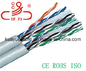 Computer Cable LAN Cable U/UTP CAT6A 23AWG 500MHz pictures & photos