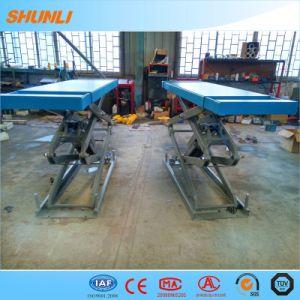 Small Platform Garage Equipment Scissor Car Lift pictures & photos