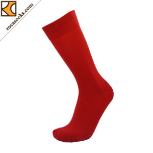 New Style Red Leisurely Travel Socks for Women (163004SK) pictures & photos