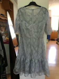 Lady′s Lace Dress, Fashionable Dress, Clothing, Ld003 pictures & photos