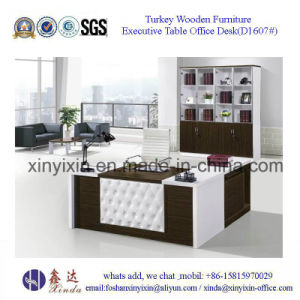 European Design Office Desk Modern Wood Office Furniture (M2602#) pictures & photos