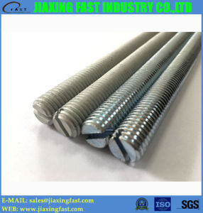 Slotted Threaded Rods, Slotted Threaded Bar pictures & photos