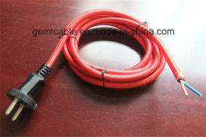 Colourful Fabric Braided Textile AC Power Cord pictures & photos