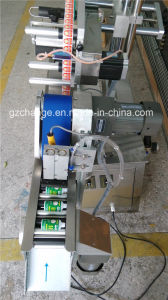 Bench Top Automatic Horizontal Small Round Bottle Labeling Machine pictures & photos