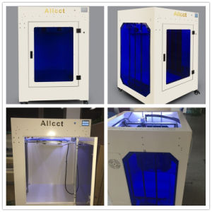Allcct Creator Can Custom 2 Nozzle Cluster 0.02mm Precision Fdm Industrial 3D Printer pictures & photos