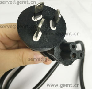 Australia Plug 3 Flat Pin Power Cord with Connector Extension Electrical Wire pictures & photos
