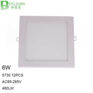 6W High Power LED Panel Lights Lightings pictures & photos