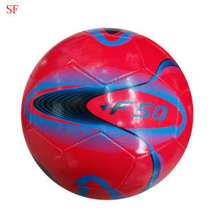 Machine Sewing PVC Football Ball Size 5 Bulk pictures & photos