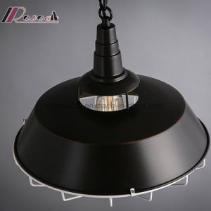 Modern Iron Pot Cover Chain Cage Pendant Light for Bar pictures & photos
