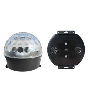 Mini Disco Magic LED Crystal Ball with Amplifier pictures & photos