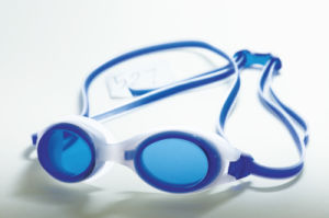 Fashion Multi Color Injection Silicone Swimming Goggles pictures & photos