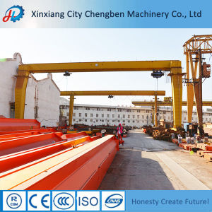 Electric Feature Light Duty Movable Railway Gantry Crane for Sale pictures & photos