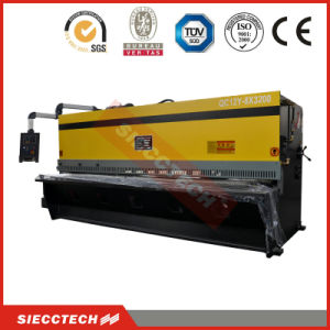QC12y Series Hydraulic Guillotine Shear 6 *4000, Hot Sale Machine Shearing pictures & photos