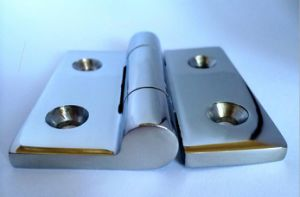 Square Hinge of 304 Stainless Steel 75*75*6 pictures & photos