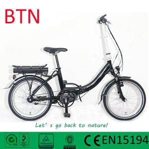 Blet Drive/Folding Bike with MID Motor Foldable Electric Bike/Bicycle pictures & photos