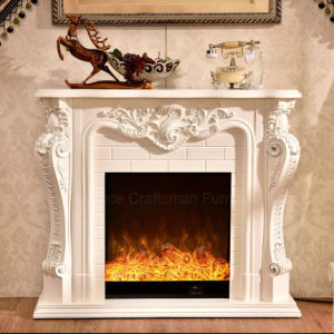Antique Furniture 3D Effect LED Light Heater Electric Fireplace (325) pictures & photos